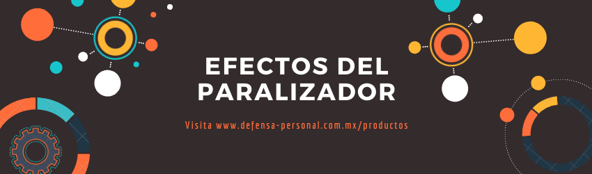 Paralizador de defensa personal